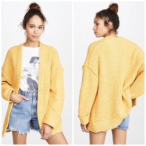 Free People High Hopes Cozy Cardigan XS
